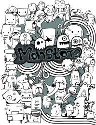 Unique Doodle Arts  Doodle art creations by artist NTH