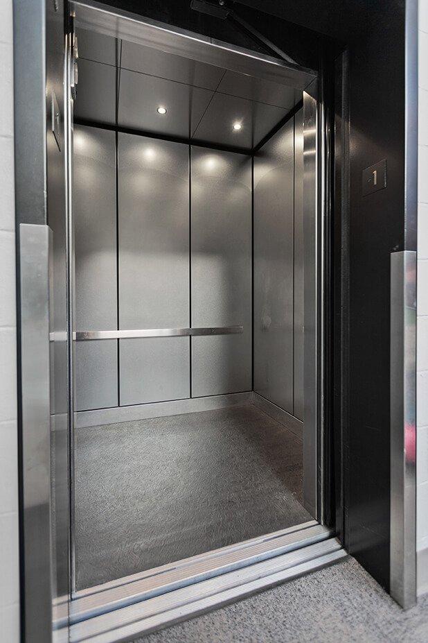 Waterfront Plaza Garage Elevator Unique Elevator Interiors