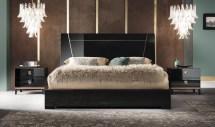 Alf Mont Noir Bedroom Collection Black High Gloss - Unique