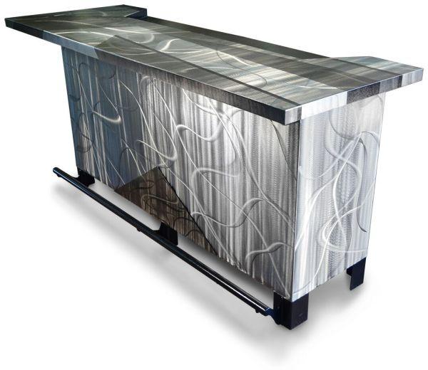 Oios Metals Custom Design Metal Bar - Unique Furniture