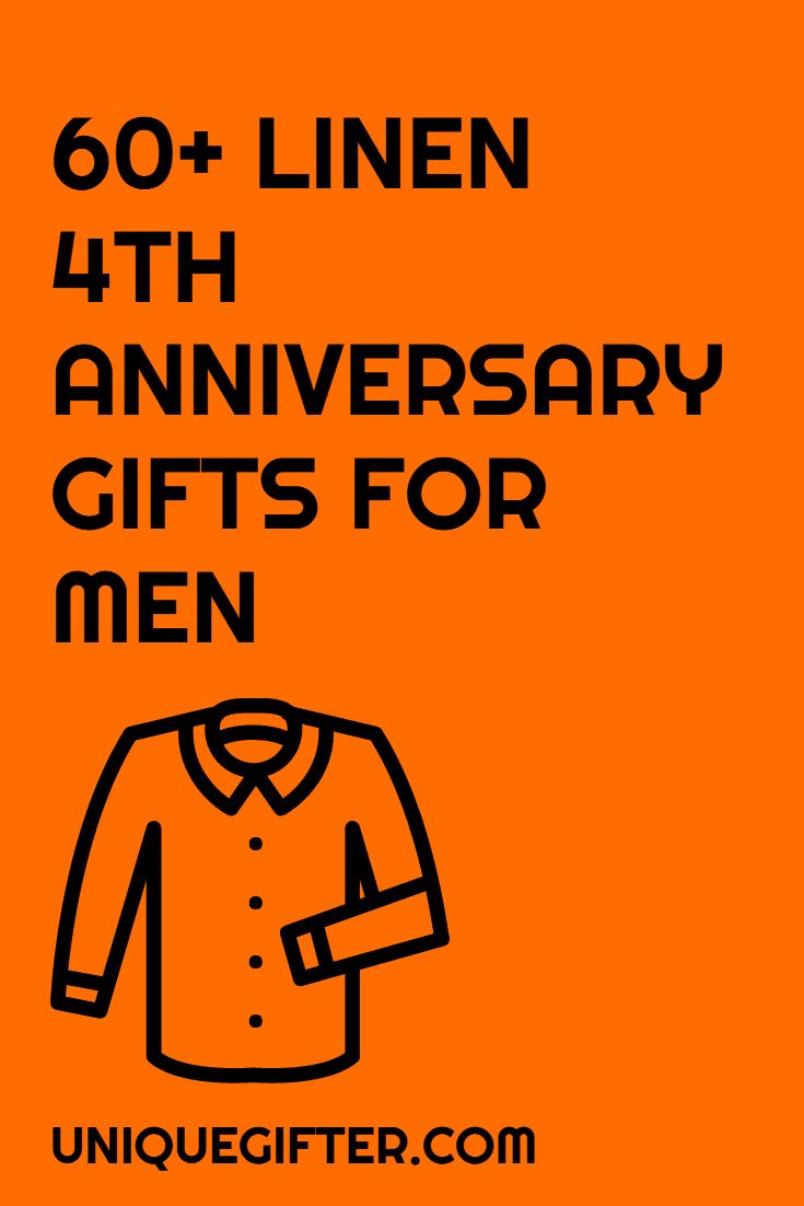 60 linen 4th anniversary