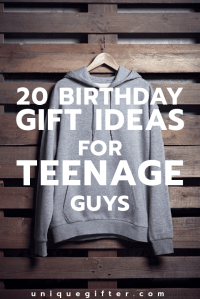 20 Cool Birthday Gifts for Teenage Guys - Unique Gifter