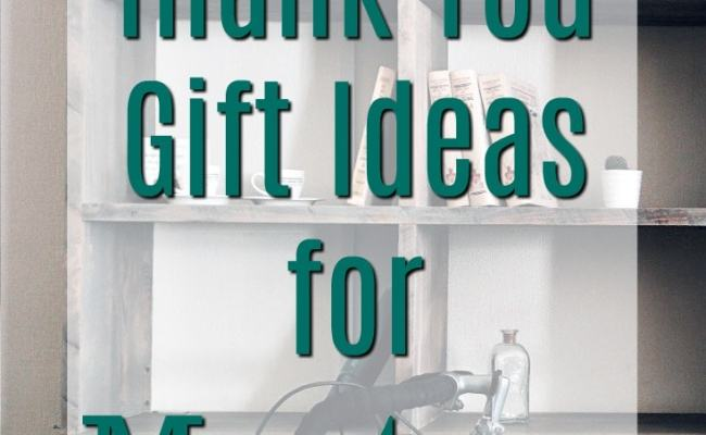 Thank You Gift Ideas For Mentors Unique Gifter