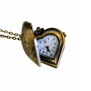 steampunk heart necklace jewelry