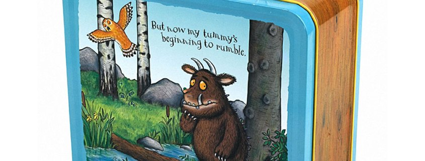 Adorable Gruffalo tin lunch box