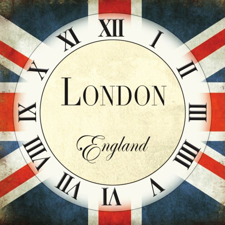 British Wall Clocks & Plaques