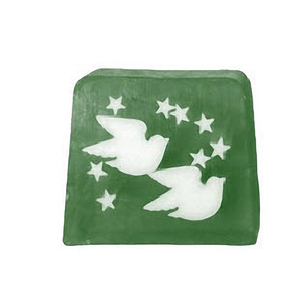 Twin Doves & Stars Soap artnomore.co.uk