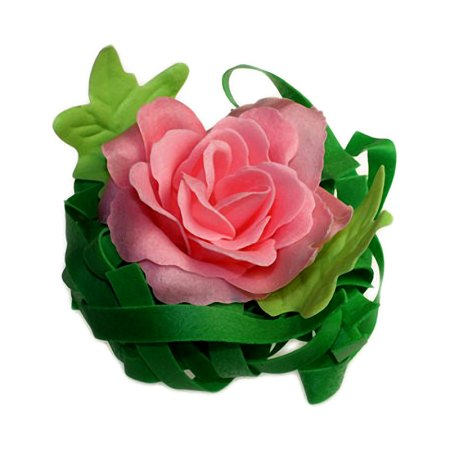 Single Rose Bath Confetti - Jasmine - artnomore.co.uk