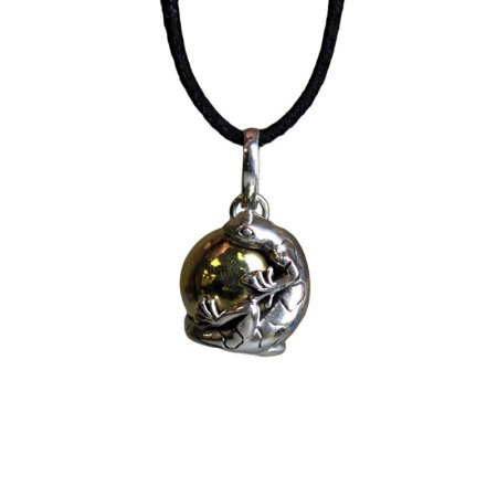 Silver Animal Spirits Calling Bell - Lizard - artnomore.co.uk