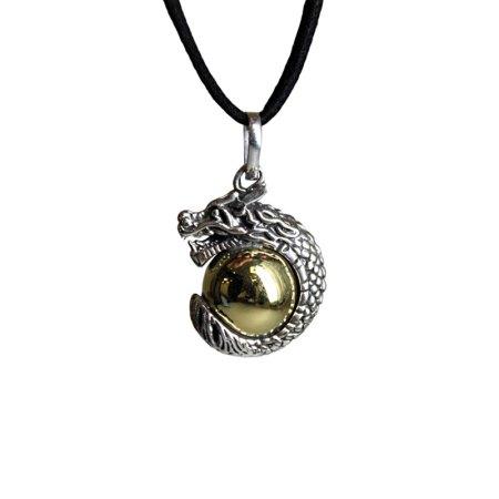 Silver Animal Spirits Calling Bell - Dragon - artnomore.co.uk