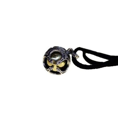 Silver Angel Bell - Prosperity - 16mm artnomore.co.uk
