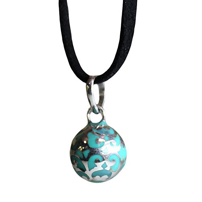 Angel Colours Bell - Teal - - artnomore.co.uk gift shop