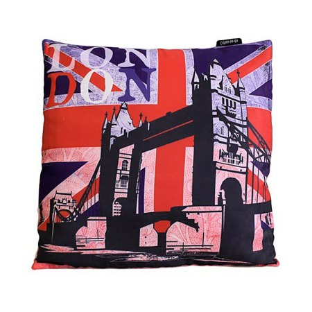Art Cushion Cover - LONDON - Bridge - artnomore.co.uk gift shop