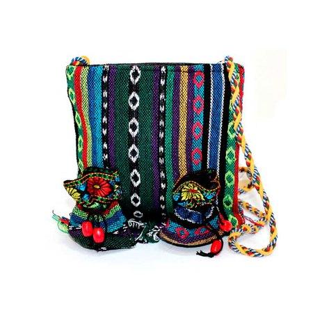 Tibetan Handbags - Medium Fringe Bag And 2 Pouch - artnomore.co.uk gift shop