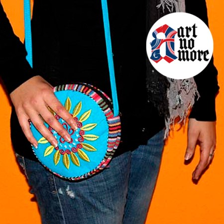 Wheel Of Life Log Tibetan Handbags - artnomore.co.uk gift shop