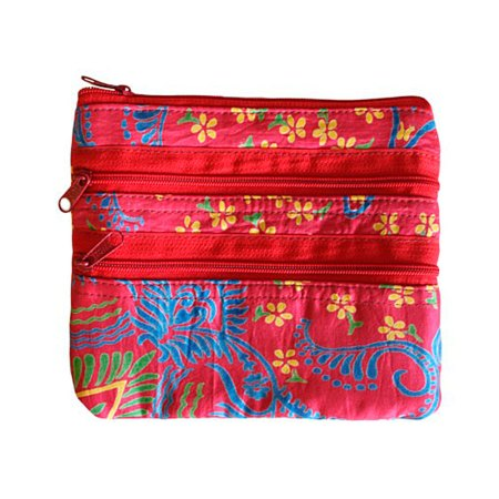 Alpana Jewellery Gift Pouches India red
