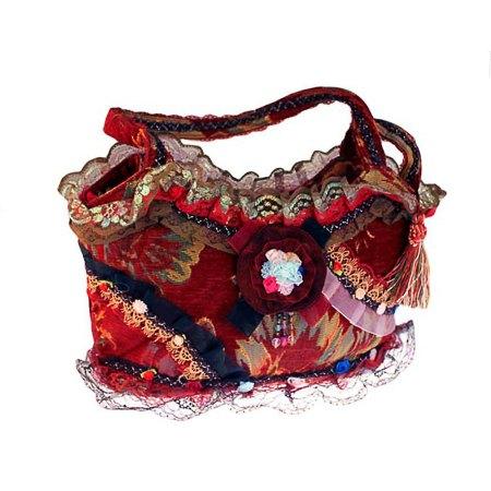 shabby chic bag ruby