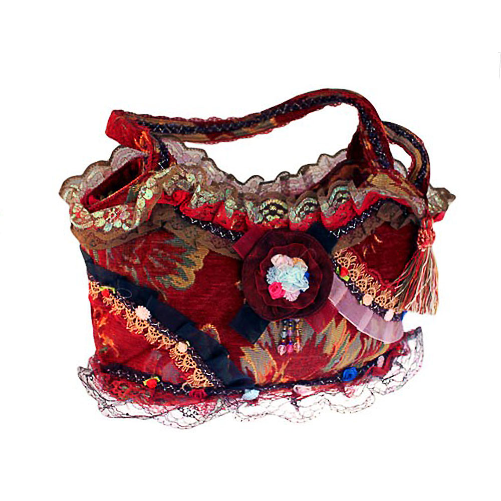 shabby chic bag ruby