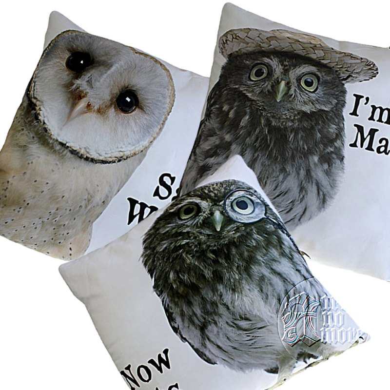 all owl cushion covers image from artnomore