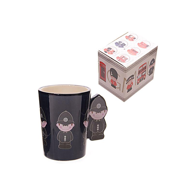 ted smith mugs policeman handle ceramic mug image 1
