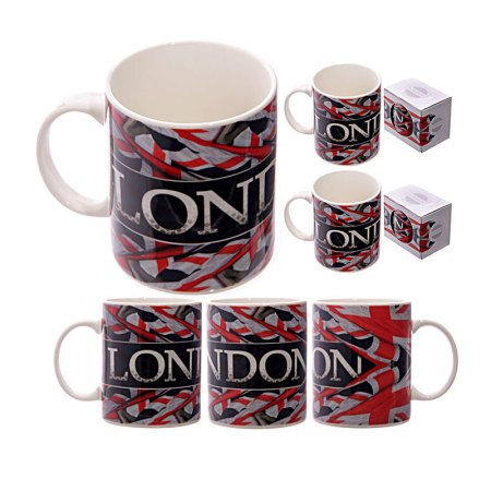 union jack bone china mug image