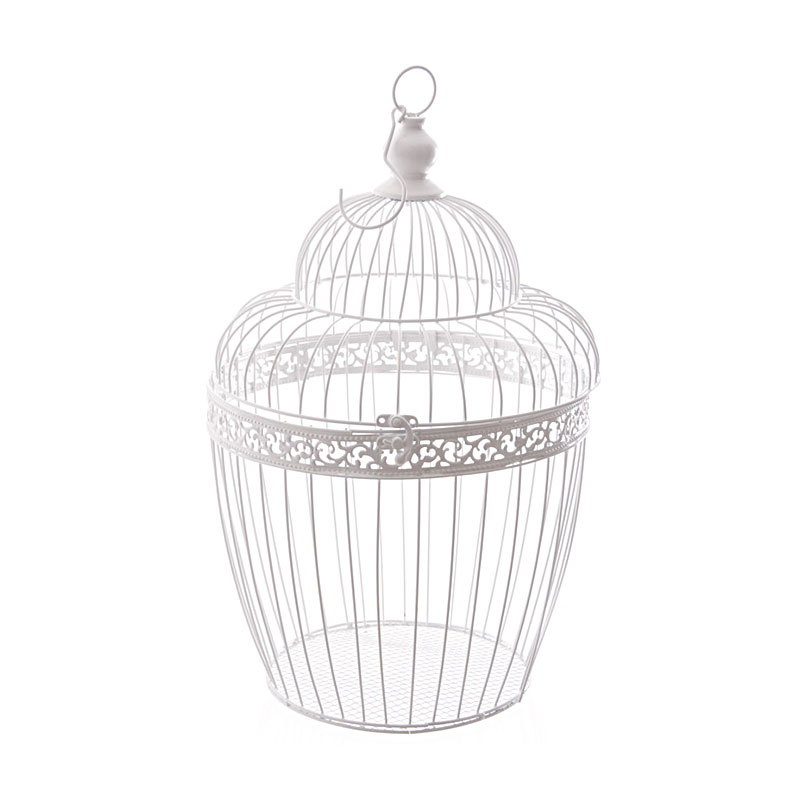 45cm wire bird cage decorative with dome image 2