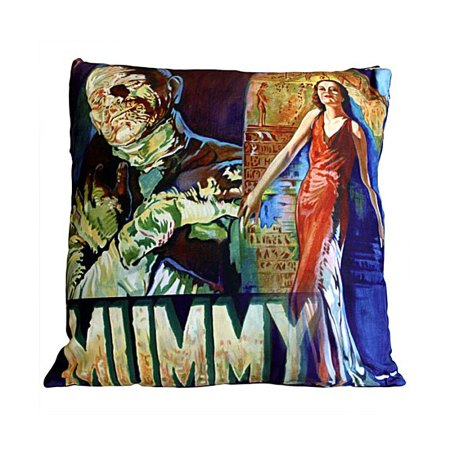 gothic cushion covers the mummy horror movie cushion cover