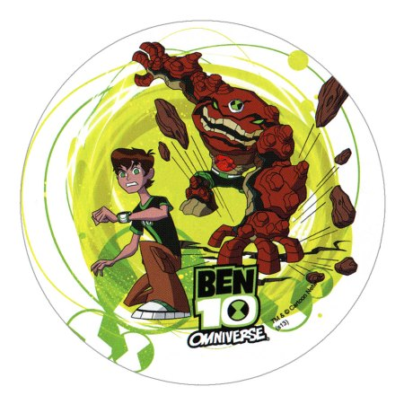 "Ben 10 Cake Toppers (8.27"") design 1"