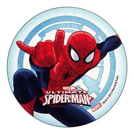 "ULTIMATE SPIDERMAN Cake Topper (5.7"") design 1"
