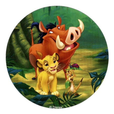 Disney Lion King Cake Toppers Design 1