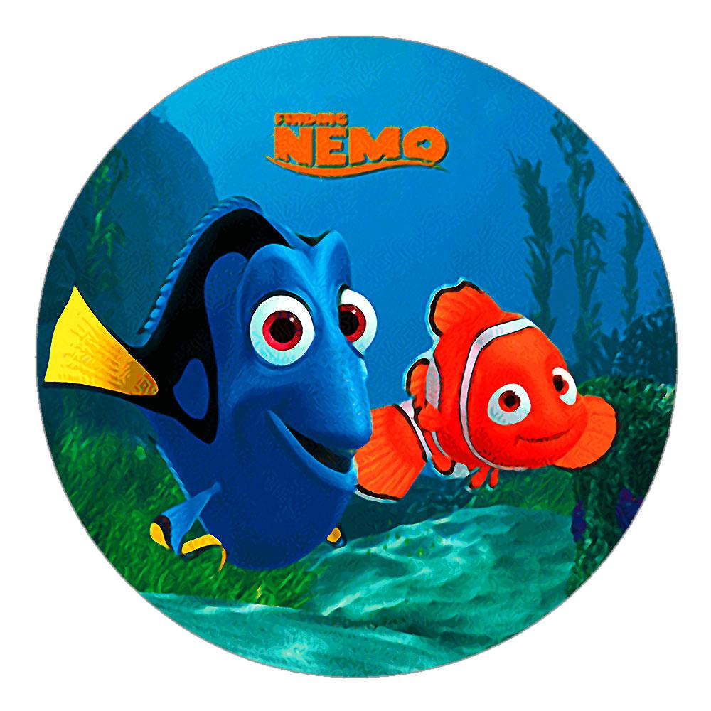 Disney Finding Nemo Birthday Cake Topper Design 1