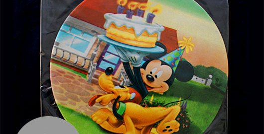 "Disney Mickey Mouse Birthday Cake Toppers (8.27"") Design Packed"