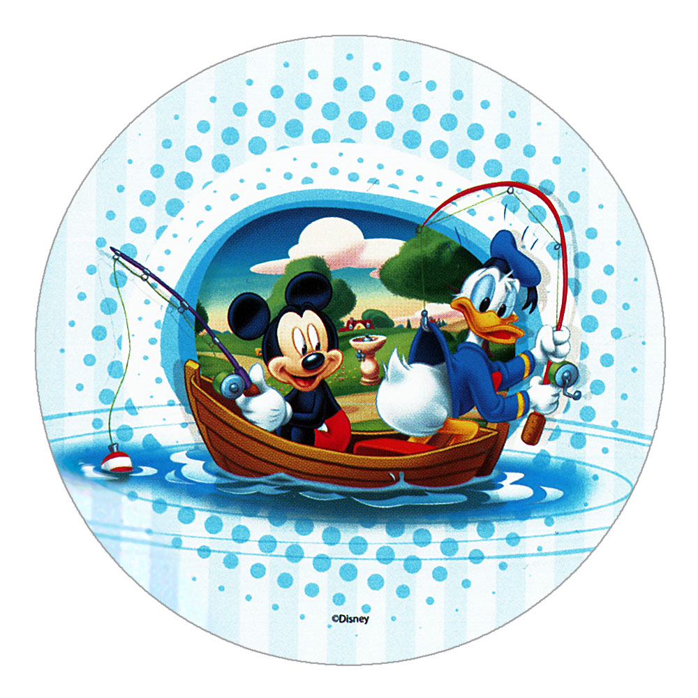 "Disney Mickey Mouse Cake Topper (8.27"") Design 1"