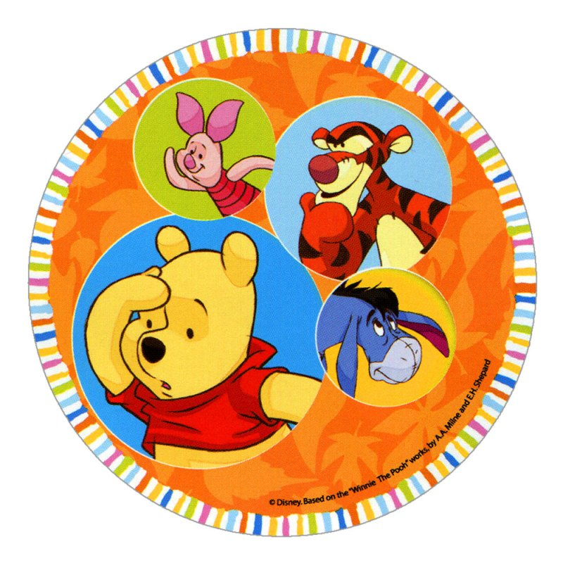 Disney Winnie The Pooh Cake Toppers Design 2