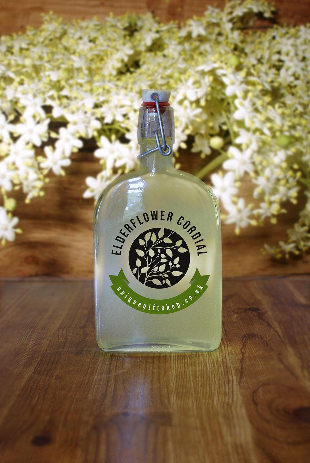homemade elderflower cordial