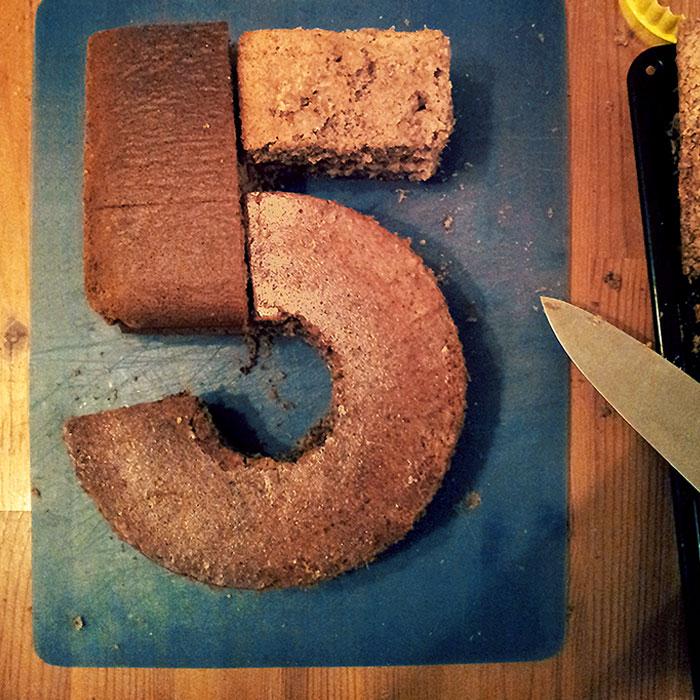 number 5 birthday cake recipe