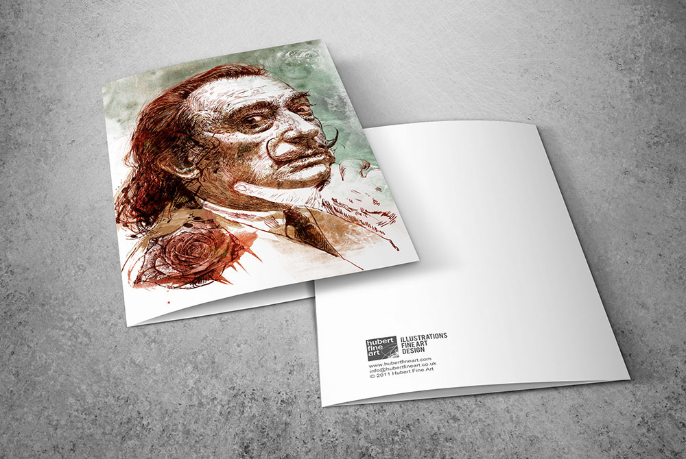 Limited Edition Greeting Cards - Dali