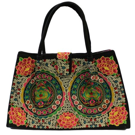jolly big fashion bags green lotus wheels