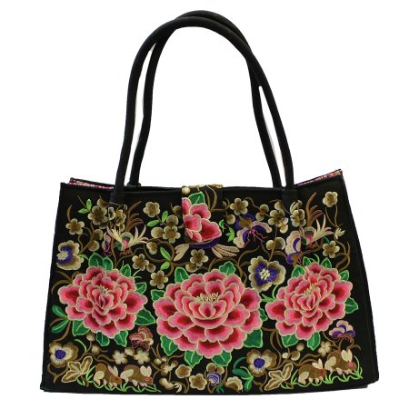 jolly big fashion bags three lotus flowers