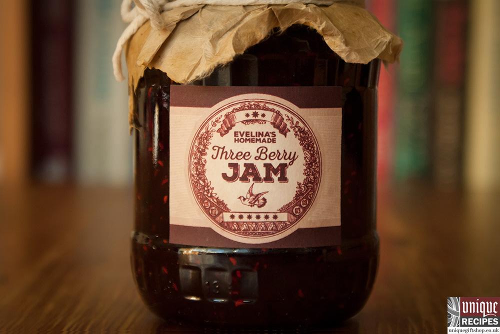 how to make three berry jam image 1