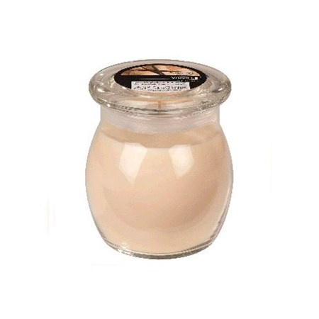 scented glass jar candles vanilla 1