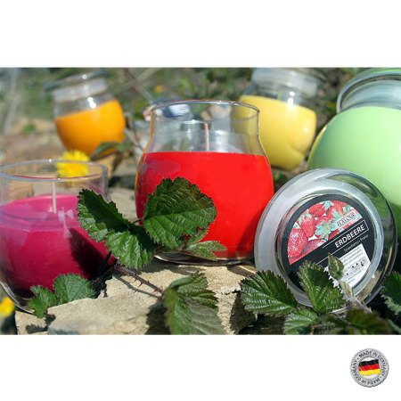 scented glass jar candles 1
