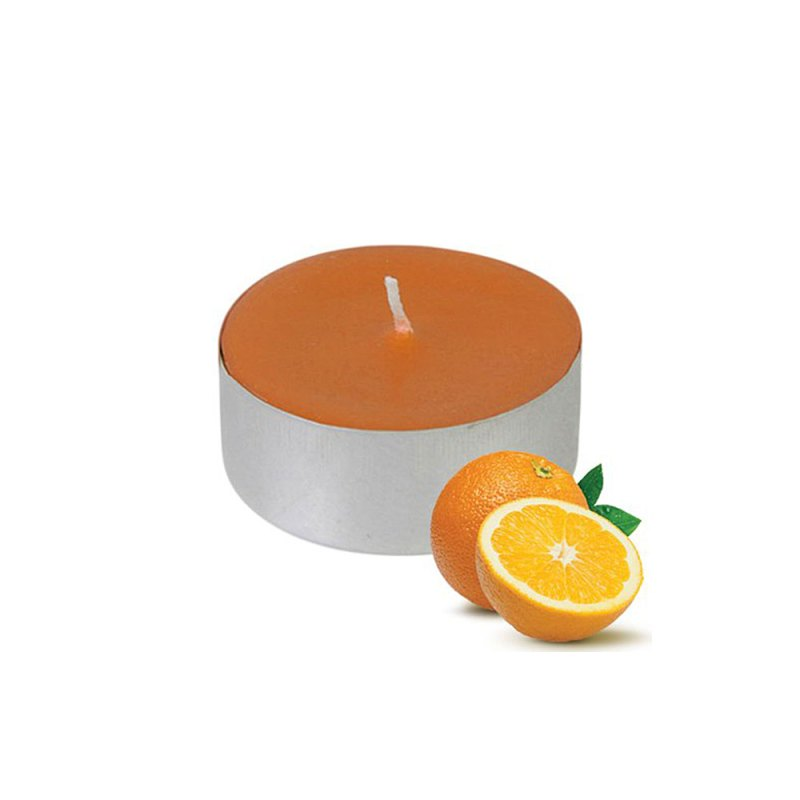 scented nightlights orange candle 1