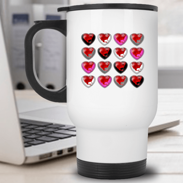 Valentines Day Gifts, Valentines Day Travel Mugs, Valentines Day Coffee Mugs, Galentines Day Gifts, Galentines Day Mugs, Galentines Day Coffee Mugs