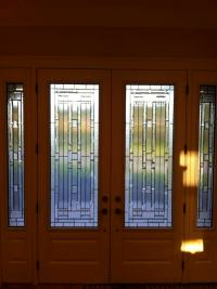 GLASS ENTRY DOOR INSERTS - WROUGHT IRON GLASS DOOR INSERTS ...