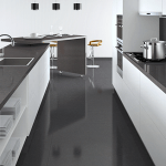 Caesarstone Kitchen Raven