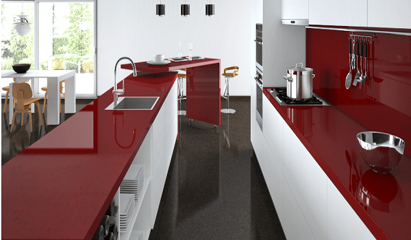 Kitchen Red