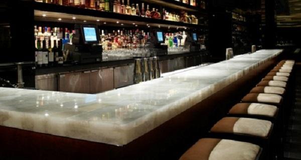 bar counter marble