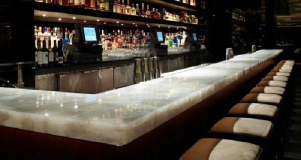 bar counter marble