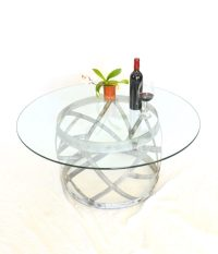 Wine Barrel Ring Coffee Table  100% Recycled  Unique ...